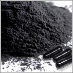 食べる活性炭 原料メーカーサイト